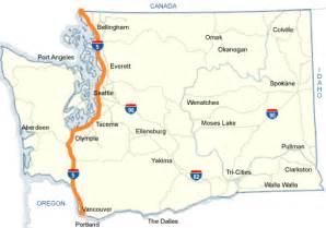 map of i5 california wsdot i 5 map