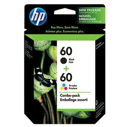 Cartridge Hp Black Ink 60 100 Original hp 60 cd947fc n9h63fn d8j23fn original black and tri color