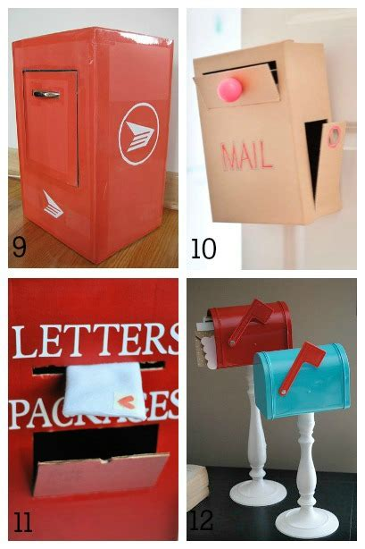 How To Make A Post Box Out Of Paper - diy mailboxes for housing a forest