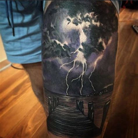 thunderstorm tattoos 25 best ideas about on birthday
