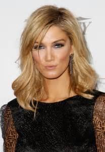 medium length hairstyle for weight delta goodrem height weight bra size body worldnewsinn