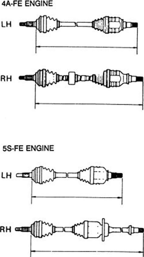 1990 lamborghini diablo right side axle seal replacement 1992 toyota celica right side axle seal replacement rear axle and suspension toyota celica