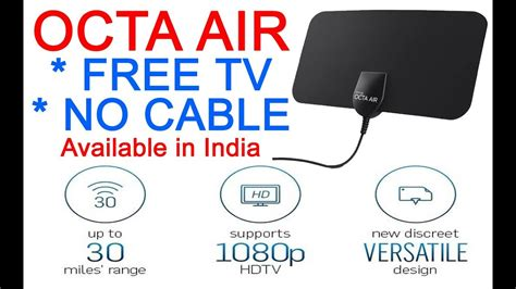Octa Air free tv without cable i never pay for cable again i octa