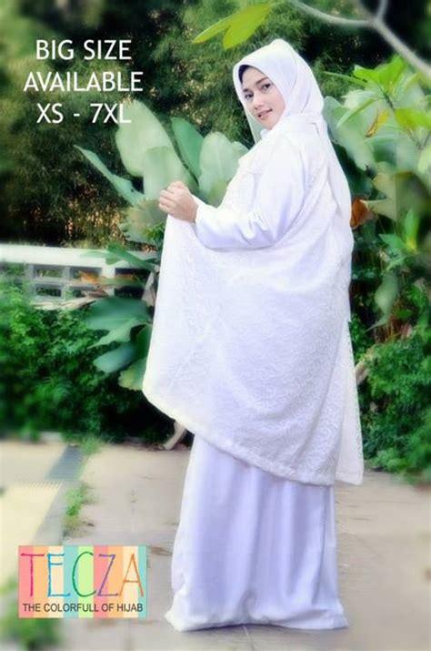 Baju Gamis Putih Modern Fatimah Dress Putih Baju Muslim Gamis Modern