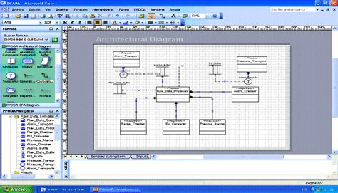 tool to draw architecture diagram ppooa visio