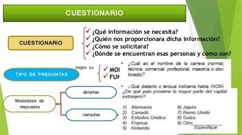 preguntas cerradas bipolares definicion metodolog 237 a de la investigaci 243 n m 233 todos de recolecci 243 n de