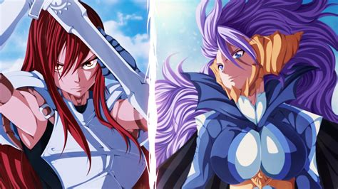 anime wallpaper erza erza scarlet mirajane strauss full hd wallpaper and