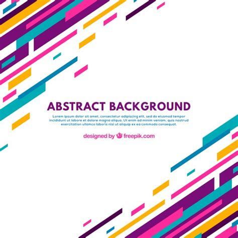 backdrop design graphic abstract background with colorful lines vector free download