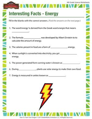 4th grade science worksheets davezan