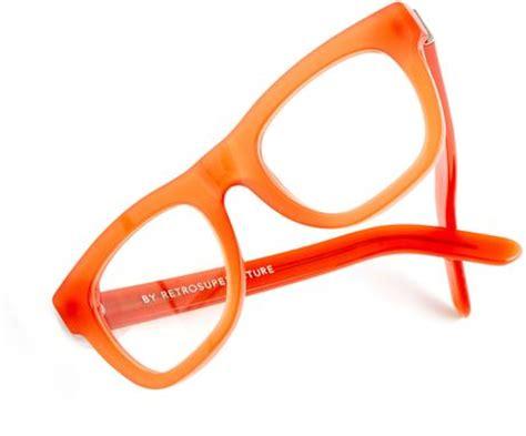 retrosuperfuture ciccio eyeglasses in opal dull