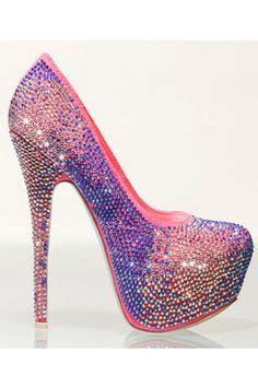 Heels Fashion Import 145 diamante pink and black high heel pumps fashion black high heel pumps