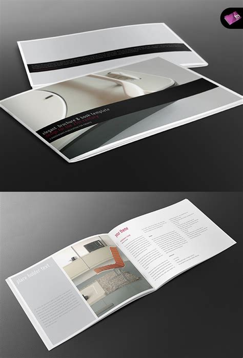 Book Brochure Template by A4 Landscape Book Brochure Template By Isoarts2