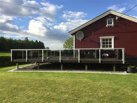 aluminium terrasse garde corps terrasse en verre sur mesure maisondugarde