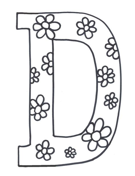 printable letters letters for coloring i letter d free printables letter d printable alphabet