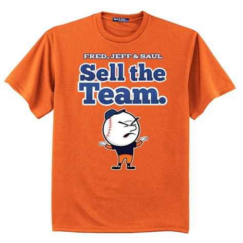 Shirt Selling T Shirt Quot Sell The Team Quot Mets Billboard
