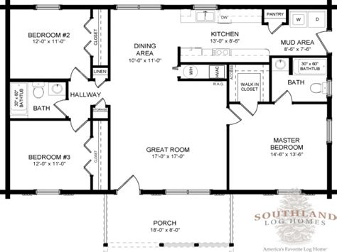 one story cabin floor plans double wide log mobile home single story log home floor