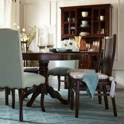 pier one dining room ronan extension table tobacco brown pier 1 imports