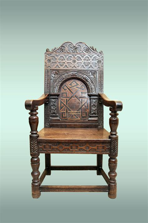 Wainscot Chair by Elizabethan Wainscot Chair
