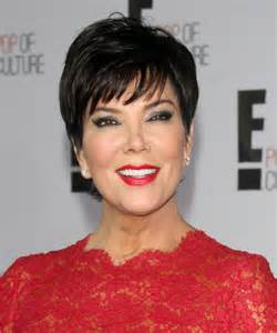 kris jenner hair color kris jenner short straight hairstyle black hair color
