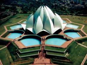 Who Built Lotus Temple Interesting Information About Cultures Delhi Tourist Places