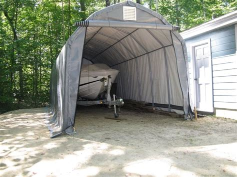 12 x 11 barn style portable garage car truck shelters