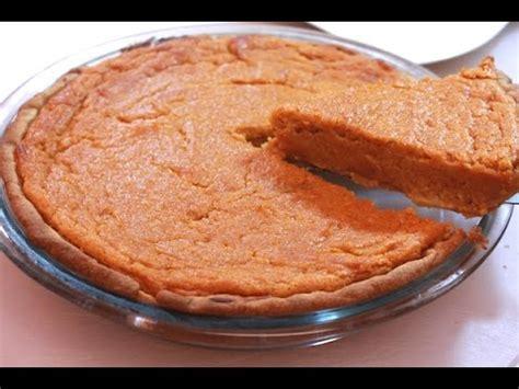 sweet potato pie recipe homemade soul food style i heart recipes youtube