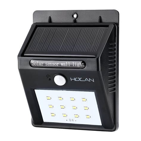 Solar Light With Motion Sensor Holan 12 Led Waterproof Motion Sensor Solar Lights Holan