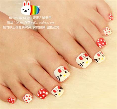 Hello Toe Nail Designs