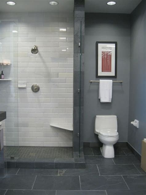 grey bathroom tile ideas 25 best ideas about slate tile bathrooms on pinterest