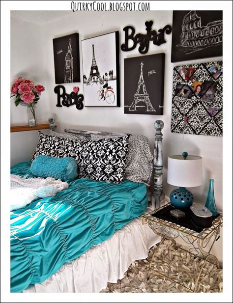 paris themed bedroom for teenagers quirky cool a parisian chic room that diy party
