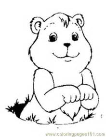 groundhog coloring pages groundhog luking coloring page free groundhog or