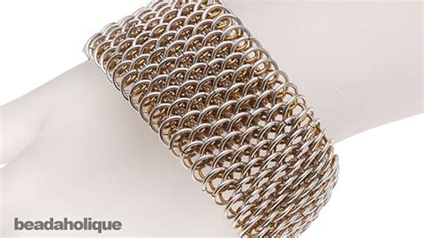How to Make Dragonscale Chain Maille   YouTube