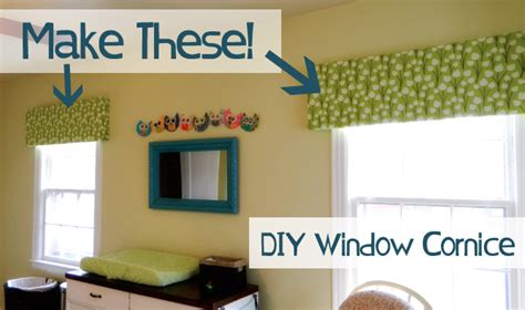 Make Your Own Cornice how to make your own window cornice thriving home