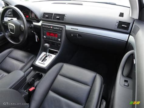 2008 Audi A4 S Line Interior by 2008 Audi A4 2 0t Quattro S Line Sedan Black Dashboard