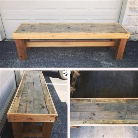 diy pallet outdoor rustic bench pallet furniture diy diy pallet bench pallet furniture plans