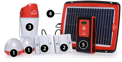 d light solar lights d light d20 the grid solar system for home and business