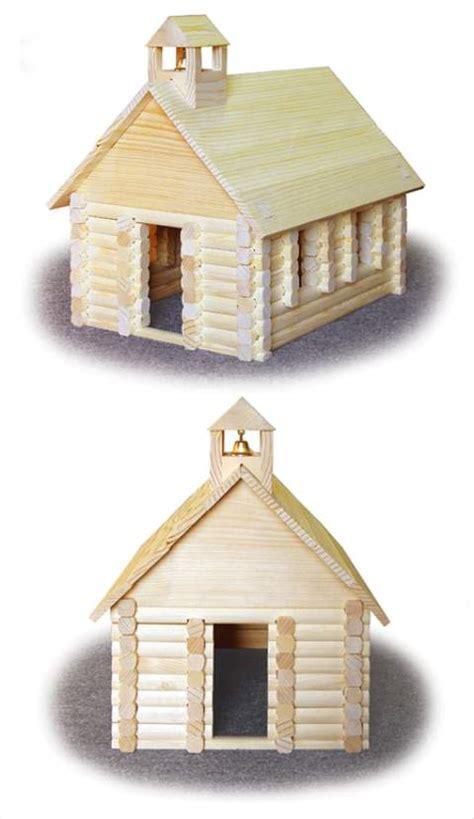 wilderness schoolhouse woodworking plan woodworkersworkshop