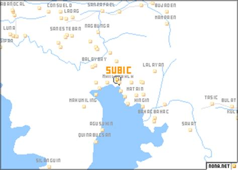subic philippines map nonanet