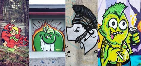 graffiti characters   graff game  bombing science