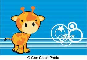 caricatura lindo beb 233 jirafa vector de stock 169 tigatelu beb 233 lindo jirafa caricatura lindo jirafa caricatura