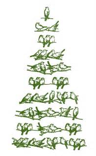 vintage christmas clip art bird tree the graphics fairy