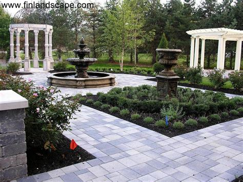 italian style backyard formal gardens 01 columbus ohio landscapes pinterest formal gardens small ponds and pergolas