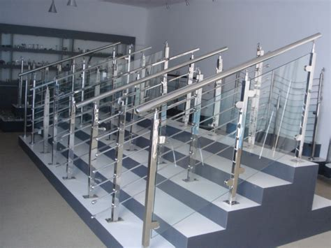 Stainless Steel Banister by Stainless Steel Stair Railings