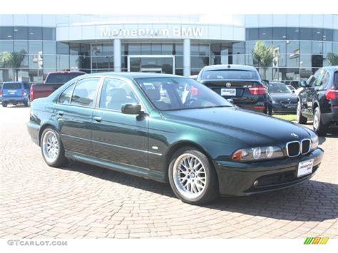 2002 bmw 530i 2002 oxford green metallic bmw 5 series 530i sedan