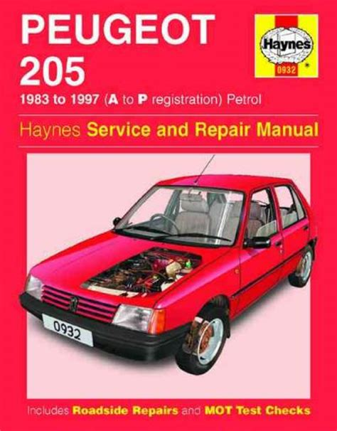 service manual online car repair manuals free 1983 pontiac grand prix interior lighting peugeot 205 1983 1997 haynes service repair manual sagin workshop car manuals repair books