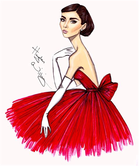 fashion illustration dresses hayden williams fashion illustrations