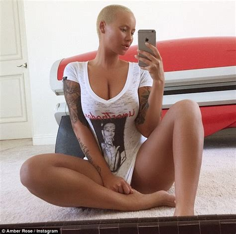 bottomless asian girl selfie amber rose brings the attention back to her with racy