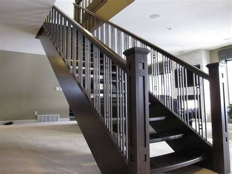 Modern Stairs Design Indoor Accent Your Stairs Using Metal Stair Railing Newels And Metal Stair Railing With Railing