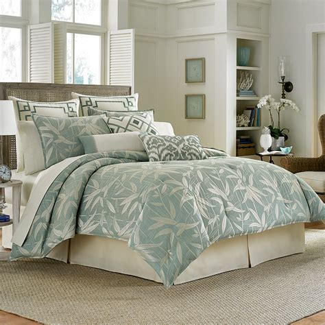 bedroom comforters sets tommy bahama bamboo breeze comforter set from beddingstyle com