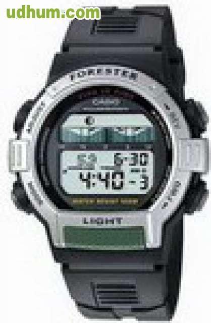 Casio Original F 200w 2b reloj casio ft 200 forester pesca